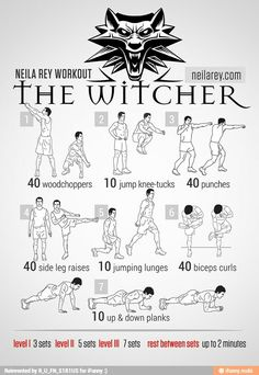 The Witcher Workout