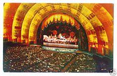 1960 Theatre Architecture, Radio City Music Hall, Rockefeller Center, Present Day, New York City, Nyc, Theatres, 1960s, Art Deco