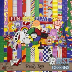 Totally Toys - PU/S4H/S4O [JFF_TTkit] - $4.99 : Scraps N Pieces Store