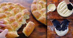 Παραδοσιακή συνταγή από τα βάθη της Ανατολής για Τυρόψωμα, με ελληνική φέτα! Apple Cinnamon Muffins, Cinnamon Apples, Greek Recipes, Apple Pie, Cooking, Desserts, Food, Breads, Kitchen