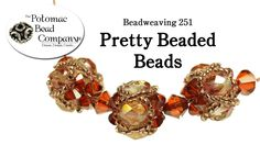 This tutorial from The Potomac Bead Company teaches you how to make pretty beaded beads using 11/0 seed beads, 8 4mm crystal bicones, and any 4 6mm round bea...