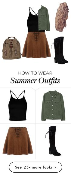 """Summer outfit 44""  on Polyvore featuring Boohoo, MANGO and Splendid"