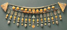 https://flic.kr/p/aarZZX | Egyptian  necklace | Egyptian Faience necklace with lotus ends.