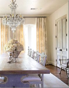 Most Design Ideas 50 Dining Room Decorating Ideas And Pictures Pictures, And Inspiration – Design House Decor Elegant Dining Room, Beautiful Dining Rooms, Dining Room Design, Home Interior, Interior Design, Dining Room Inspiration, Elegant Homes, Sweet Home, Room Decor