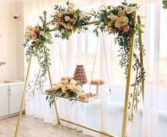 Cake Swing Wedding & Party Rentals and Sales San Diego, CA is part of Wedding decor elegant - The Cake Swing is an incredibly original to display your wedding cake Available in brushed gold, silver, antique brass and black Perfect Wedding Dress, Elegant Wedding, Rustic Wedding, Wedding Country, Chic Wedding, Wedding Trends, Wedding Tips, Our Wedding, Wedding Ceremony