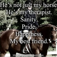 Horse Therapy. www.GlobalHorseCents.com