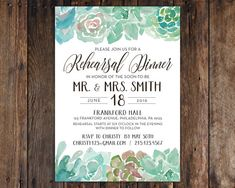 Wedding rehearsal dinner invitation card template printable this listing includes 5x7 invitations on heavy high quality matte or cream stopboris Choice Image