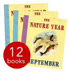 The Nature Year Collection - 12 Books (Collection): 9781905473694