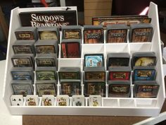 Foam Core Card Holder for Less Than $4! | Shadows of Brimstone: City of the Ancients | BoardGameGeek