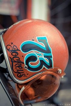 There's a guy in Indiana who hand paints helmets. I really like the look of it.