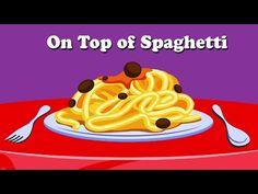 On Top of Spaghetti | Children's Nursery Rhyme With Lyrics | English Nursery Rhymes - YouTube