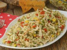 Tavuklu Kuskus Salatası Turkish Salad, Bento Box, Fried Rice, Salads, Turkey, Pasta, Chicken, Ethnic Recipes, Food