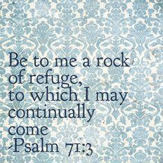 Psalm 71:3