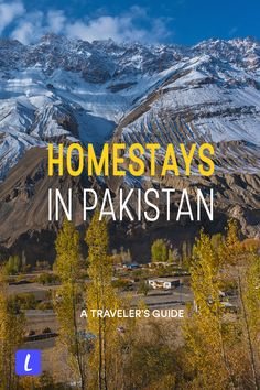 Looking for a homestay in Pakistan? Though homestays in Pakistan aren't so common, there are ways to find an authentic local home experience regardless. Here is a travel guide for finding homestays in Pakistan, including where to find homestays, best homestays, responsible travel tips, and homestay recommendations. #homestay #Pakistan