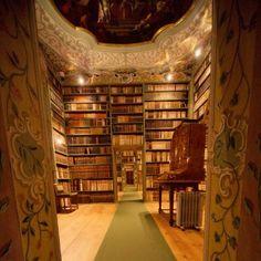 Zellenbibliothek, Stift St. Peter, Salzburg (Salisburgo)