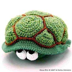 love turtle olga oete - PDF crochet pattern by designshop