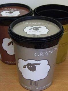 sheeps milk gelato