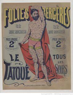 Folies-Bergère...Le Tatoué : [affiche] / [non signé]