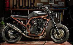 SUZUKI GSF1200 BANDIT 'BOBTRACK' - ROOK MOTORFIESTEN - INAZUMA CAFE RACER  photo - Geert De Taeye