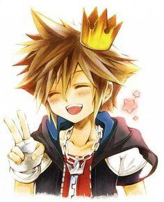 Sora. . . Kingdom Hearts