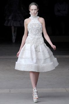 Alexander McQueen - The Fall - Winter 2011 - Paris at La Conciergerie - Design by Sarah Burton