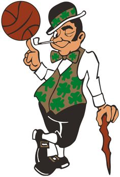 Boston Celtics Alternate Logo 1996