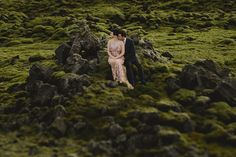 An Iceland wedding dream with wild beauty, a brave couple who endured the weather elements all captured by Estonia photographer Mait Jüriado of M&J Studios.