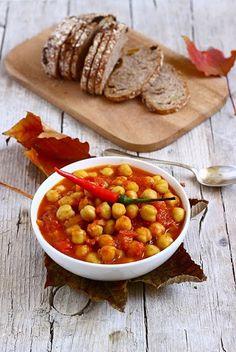 MIEL & RICOTTA: Zuppetta piccantina di ceci e curry e la lettera a...