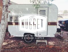 Meet The Nugget: Vintage Camper Trailer Makeover Series