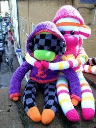 Monkey love. How cute?