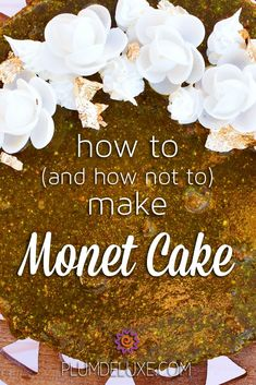 Layers, precision, and beauty meet in le gateau vert, commonly known as Monet cake. Here's how to make this confectionery delight – and how not to mess it up. #cakerecipe #gbbo #greatbritishbakeoff