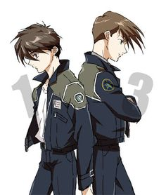 My two favourite characters of Gundam wing,