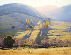 """Afternoon Tarana , nsw"" by Graham Gercken 