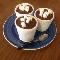 Felt play food cup of cocoa with mini marshmallows. Felt Crafts Kids, Felt Food Patterns, Felt Play Food, Cute Kitchen, Fake Food, Good Enough To Eat, Felt Diy, Diy For Kids, Kids Meals