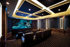A New Dimension | 26 Home Theaters You Wish You Owned