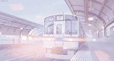 edit scenery pastel 5 Centimeters Per Second anime scenery 5 cm per second Byousoku 5 Centimeter stacojiu Aesthetic Images, Aesthetic Backgrounds, Aesthetic Anime, Aesthetic Wallpapers, Anime Gifs, Anime Art, Gif Background, Casa Anime, Anime Scenery Wallpaper