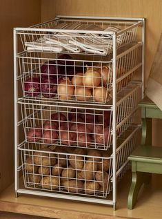 49 stunning diy kitchen storage solutions for small space that look so excited 1 solnet Alternative and practical home organisation for The Indie Practice Kitchen Organization Pantry, Basket Organization, Kitchen Storage Solutions, Diy Kitchen Storage, Pantry Storage, Kitchen Pantry, Storage Drawers, Home Organization, Kitchen Decor