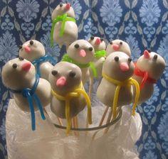 Schneemann * snowman cakepop