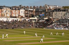 North Marine Road Ground, formerly known as Queen's, is a cricket ground in… North Yorkshire, Yorkshire County, Yorkshire England, American Games, Play N Go, Cricket Match, World Of Sports, Sports Games, Great Britain