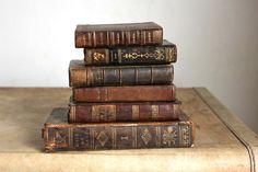 Antique french books via LucieTales