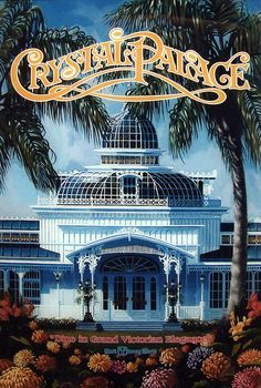 Crystal Palace building at Walt Disney World