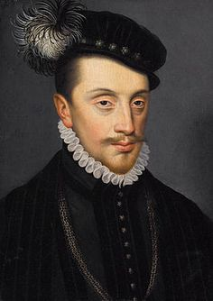 Charles III, Duke de Lorraine (1543-1608), was the husband of Claude de Valois, Duchess de Lorraine.  They had nine children together, but Claude died following the birth of their 9th child, who died a year later.