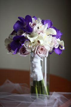 Lavender and purple bouquet