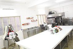 Phòng học làm bánh đạt chuẩn tại các chi nhánh TP.HCM, Đà Nẵng, Nha Trang, Đắk Lắk