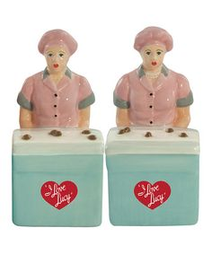 Lucy & Ethel Salt & Pepper Shakers