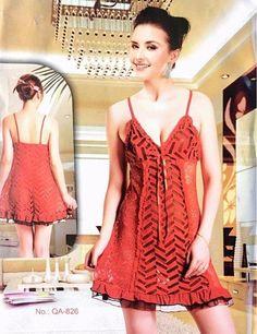 Sleepwear Nighty for Women - QA-826 - Nighty - diKHAWA Online Shopping in  Pakistan 80050bedd