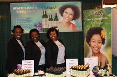 The Naturaz Hair team enjoyed meeting you all....