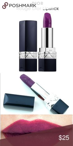 CHRISTIAN DIOR Rouge Dior Matte Lipstick Brand new without box. Color is superstitious. Retails for $35. Christian Dior Makeup Lipstick
