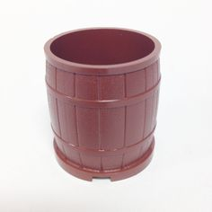 Lego Parts: Container, Barrel 4 x 4 x 3 Studs (Reddish Brown) The Lone Ranger, Lego Parts, Reddish Brown, Barrel, Studs, Container, Detail, Boys, Building