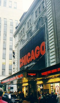 """""""Chicago the Musical"""" Broadway by agennari, via Flickr"""